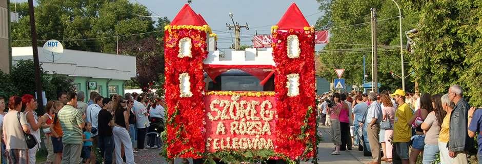 Szőregi Rózsaünnep - Köszöntő
