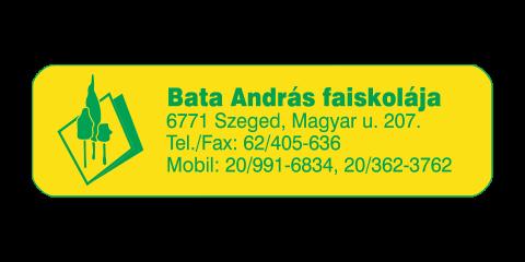Bata András Faiskolája